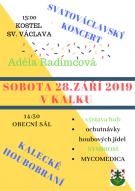 Plakát Koncert + Houbobraní